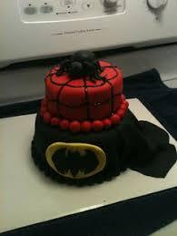 How To Decorate Spiderman Cake Batman Spiderman Cake Cake By Patty Cake U0027s Cakes Keller