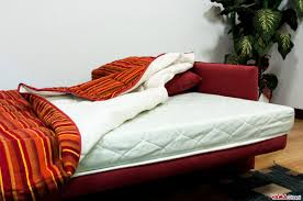 Sofa Bed Thick Mattress by Fold Down Sofa Bed With Slatted Base