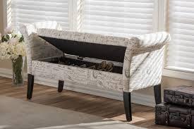 nourishing fabric ottoman bench tags ottoman storage bench small