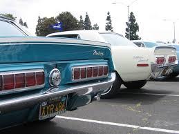 1968 mustang rear end californiaspecial com 1968 gt cs identification california