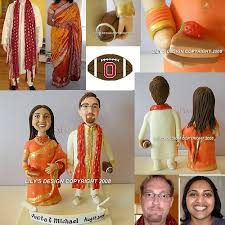 indian wedding cake toppers indian custom theme cake toppers indian culture personalized