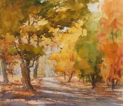 116 best watercolor fall season images on pinterest watercolors