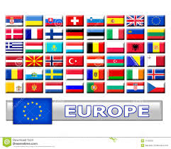 Europe Flags Set Of European Country Flags Stock Illustration Image 11192931