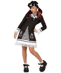 Sailor Halloween Costume Pink Marionette Womens Costume Gothic Costumes
