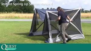 Gazebo Screen House Kit by Screen House 4 Erects In Under A Minute Youtube