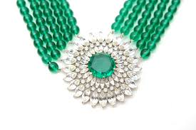 green emerald necklace images Emerald green wedding necklace jpg