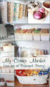 Ideas For Organizing Kitchen Pantry - 103 best pantry organization images on pinterest pantry