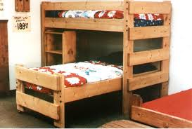 Pallet Bunk Beds Bedroom Furniture Bedroom Size Bed Size And Untreated Pine