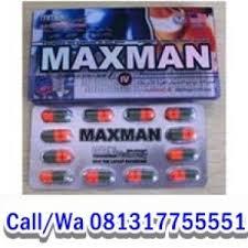 obat kuat pria maxman capsule obat pembesar penis obat