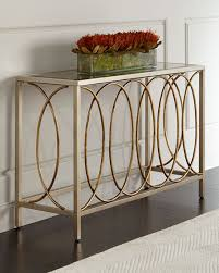 Mirror Sofa Table by Doss Mirror Top Console Table
