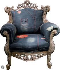 fauteuil kare design kare design barok fauteuil mink blauw baroc