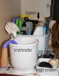 Under The Kitchen Sink Storage Ideas Kitchen Month Archives Clean Mama