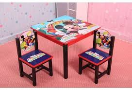 mickey mouse end table disney mickey mouse club house table chair set wooden price from