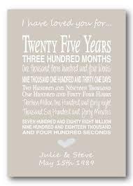 25 year anniversary gift ideas for 25th anniversary gift personalised by pinkmilkshakedesigns books