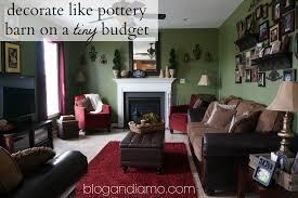 decorate like pottery barn on a tiny budget andiamo