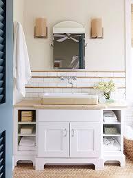 Neutral Color Bathrooms - our best ideas for a bathroom backsplash subway tiles white