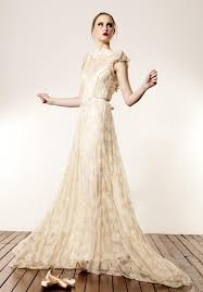 beige wedding dress the made with bridal collection the treasures from