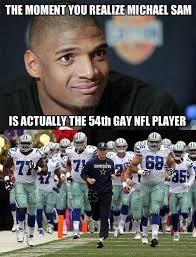 Michael Sam Meme - nfl memes on twitter michael sam is not the first http t co