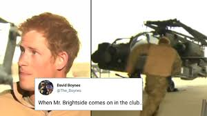 Me Me Images - the accuracy of the prince harry running to a helicopter meme has
