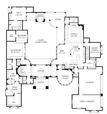 mediterranean floor plans with courtyard home plans homepw12595 6 626 square 5 bedroom 5 bathroom