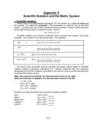 scientific notation worksheet how to convert scientific notation