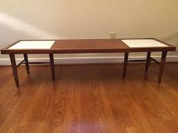 modern walnut coffee table mid century modern walnut coffee table by american of martinsville
