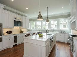 contemporary off white kitchen cabinets