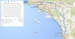Map Southern California Southern California College Tour Foodie Edition College Kickstart
