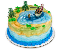 fisherman cake topper fishing cake topper fisherman s birthday cake topper
