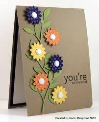 handmade cards 30 great ideas for handmade cards