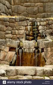 el bano del inca the inca u0027s bath ceremonial stone baths stock