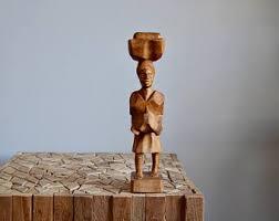 haiti wood carving etsy