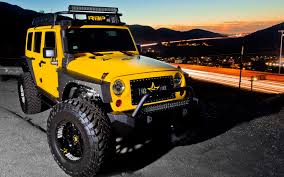 power wheels jeep yellow dub magazine big yellow x rolling big power