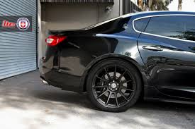 maserati quattroporte black rims maserati quattroporte on hre p43sc sinister perfection