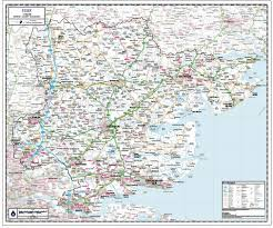 Paper Town Map Maps Custom Maps Ordnance Survey Maps Map Gifts French Maps