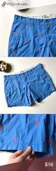 Navy Blue An by Old Navy Blue Shorts Embroidered Orange Palm Trees This Is A Pair