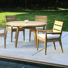 Teak Dining Room Table And Chairs by Teak Garden Dining Chairs 13 Piece Luxurious Teak Patio Dining
