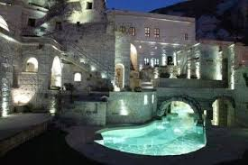 castle house with moat pool i would definitely want this