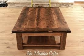 reclaimed wood square coffee table large coffee table wood simplysami co