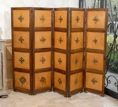 accessories beautiful 5 panel door wood vintage antique folding