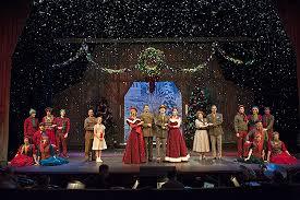 White Christmas Stage Decorations by White Christmas Set Design Google Search Inspirasjon Til