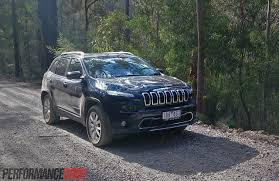 hunting jeep cherokee 2014 jeep cherokee limited review video performancedrive