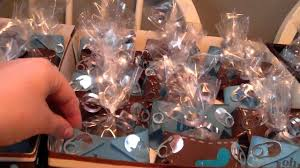 paper diaper baby shower favors youtube