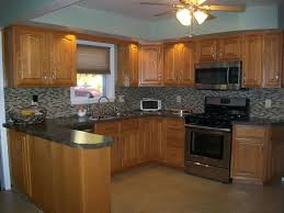 Paint Color Ideas For Kitchen With Oak Cabinets 37 Best Granite Countertops With Oak Cabinets Images On Pinterest