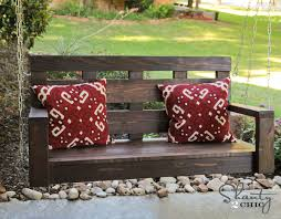 Free Plans For Yard Furniture by Ana White Shanty2chic Porch Swing Diy Projects