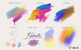 rebelle real media paint software