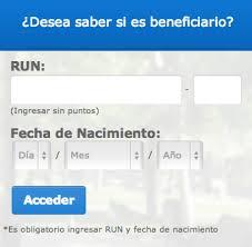consulta sisoy beneficiaria bono mujer trabajadora 2016 revisa con tu rut si eres beneficiario del bono marzo 2014 diario