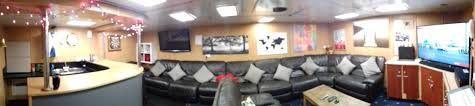 hms enterprise on is this the wardroom with leather