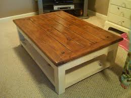 White Distressed Wood Coffee Table Making Distressed Wood Coffee Table Loccie Better Homes Gardens