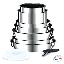tefal batterie de cuisine set casserole induction batterie de cuisine tefal ingenio 5 set 10